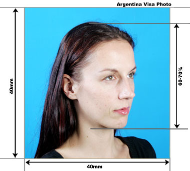 Make Argentina Passport / Visa Photo Online for Free