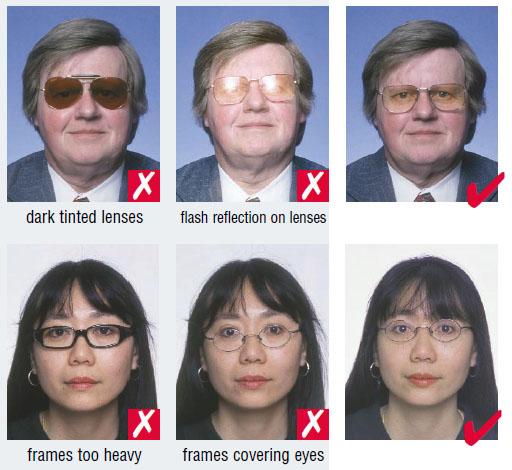 Russia passport photo