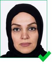 Denmark passport photo
