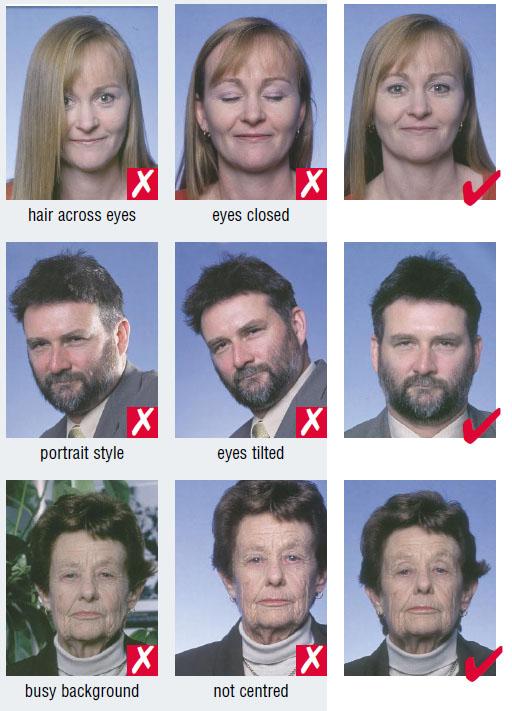 Germany passport photo