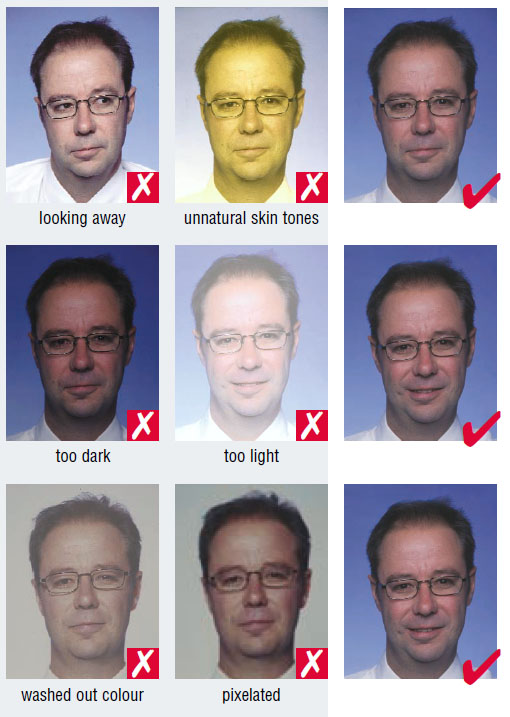 Netherlands passport photo