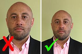 New Zealand Passport Photo