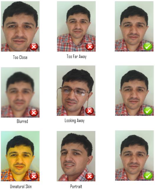 Pakistani passport photo